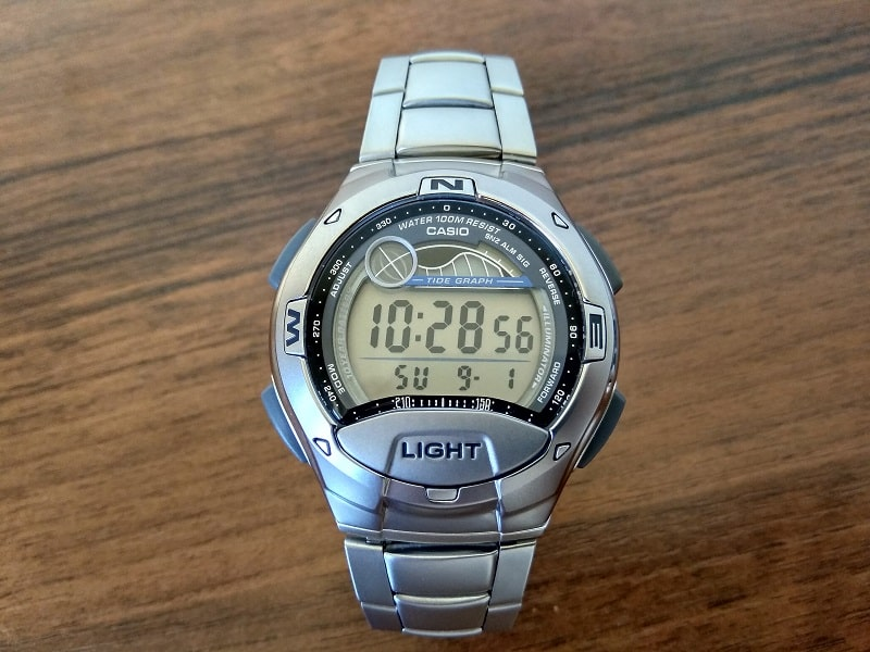 Best watch for sailing Casio