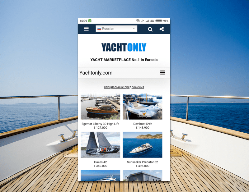 Yacht Selling Sites